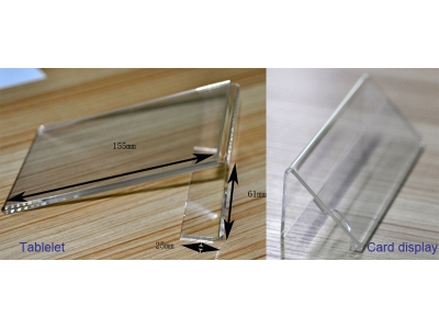 Acrylic display - Tablelet