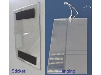 Acrylic display - Portable holder