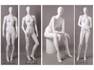 Fiberglass mannequin - full body female 7#
