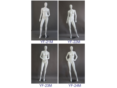 Fiberglass mannequin - full body female 8#
