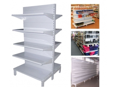 Gondola shelving-high base shelving