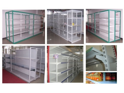 Gondola shelving-Heavy duty shelving SUN-07